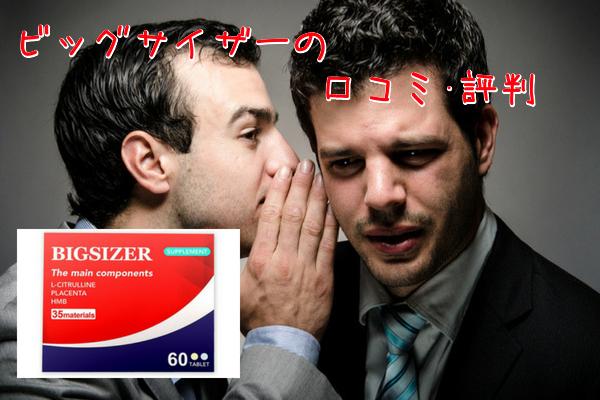 ビッグサイザー 口コミ評判