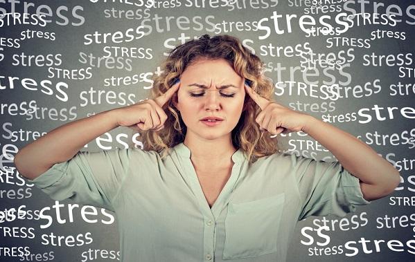 ストレスの蓄積
