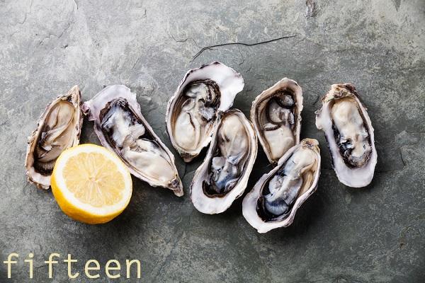 「亜鉛」を多く含む食べ物 ⇒黒髪に必要な細胞を活性化