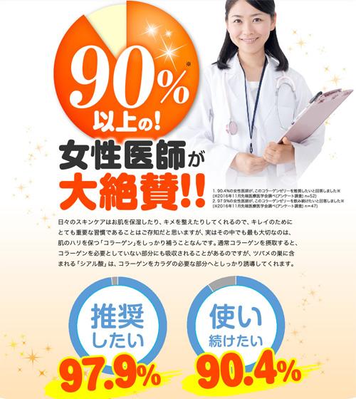琉球すっぽんコラーゲンゼリー女性医師
